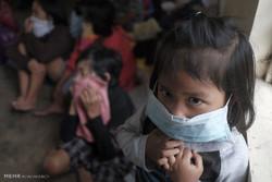 فرار فیلیپینی ها از آتشفشان