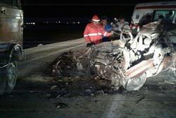 تعداد فوتی های تصادف جاده ورامین به ۴ نفر افزایش یافت