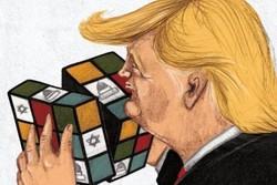 كاريكاتور دونالد ترامپ