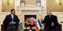 Larijani calls for closer Iran-Pakistan co-op