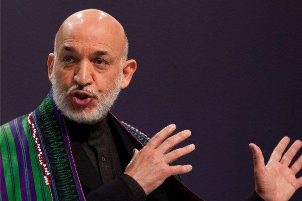 کرزای: تروریسم در افغانستان نتیجه عملکرد آمریکاست