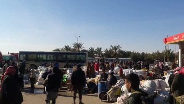3k displaced persons return to their towns in Deir Ezzor