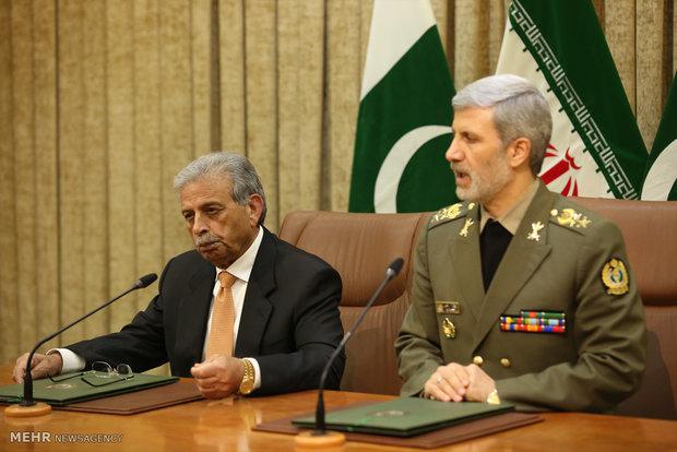 Iran, Pakistan joint statement on coop.