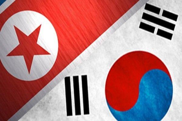 ڕژەی کۆریای باشوور و باکوور لە ئۆلەمپیک زستانی ٢٠١٨ بە یەک ئاڵا