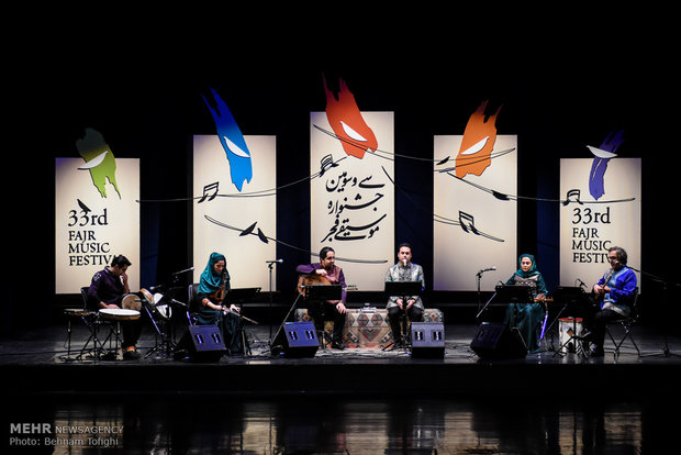 8th day of Fajr International Music Festival