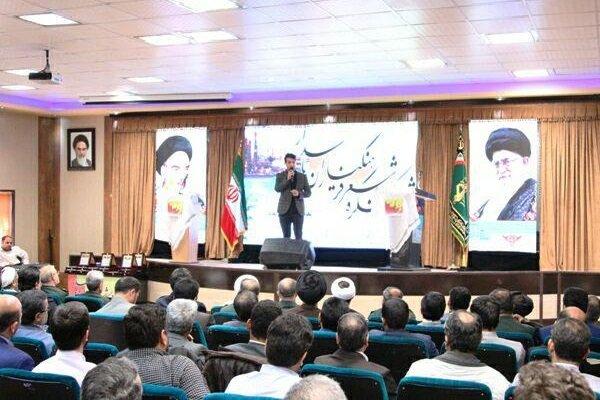 اختتامیه ششمین کنگره سراسری شعر فرهنگیاران پاسدار برگزار شد