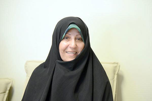 فاطمه هاشمی رئیس فدراسیون ورزش بیماران خاص و پیوند اعضا باقی ماند