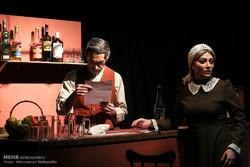 """""""Dry County"""" tiyatrosu Tahran'da sahneye çıktı"""
