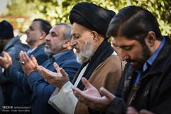 اقامه نماز طلب باران در شیراز
