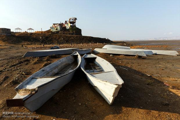 تراز آب دریاچه ارومیه افزایش یافت/ مهر طبیعت یا راهکار مسئولان