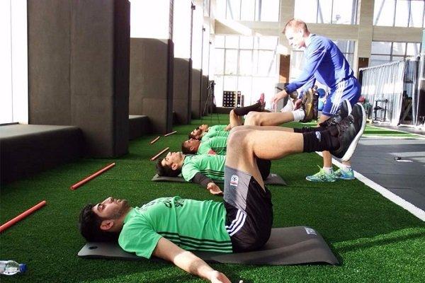 2693236 - انجام تمرین ریکاوری تیم ملی پس از هفته بیست و نهم لیگ برتر
