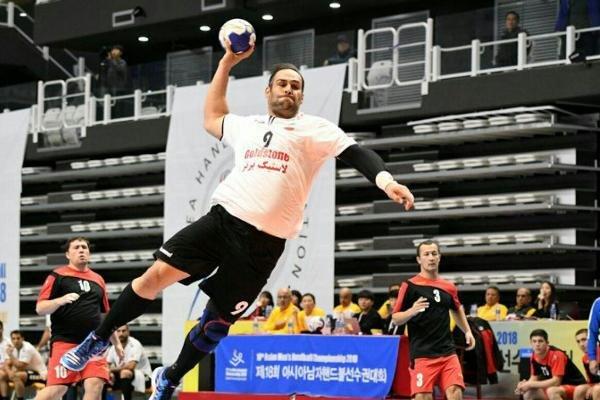 فوز الفريق الوطني الإيراني لكرة اليد مقابل نظيره الياباني
