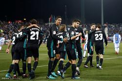 دیدار تیم های فوتبال لگانس و رئال مادرید