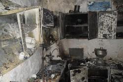 انفجار کپسول گاز ۲نفر از اعضای یک خانواده را روانه بیمارستان کرد