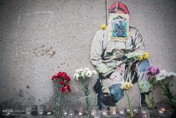 دومین سالگرد شهدای آتشنشان حادثه ساختمان پلاسکو برگزار شد