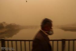 پیش بینی وزش بادهای شدید و وقوع گرد و خاک در خوزستان