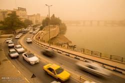 پیش بینی گرد و خاک/ انتظار وقوع دمای بالای ۴۹ درجه در خوزستان