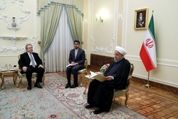 New Cypriot ambassador presents credential to Rouhani