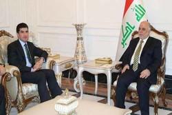 İbadi ile Neçirvan Barzani Bağdat'ta görüştü