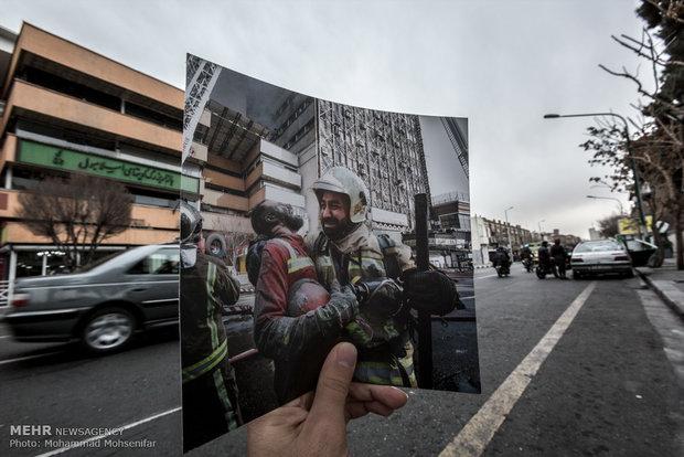حادثه «پلاسکو» به روایت عکاسان