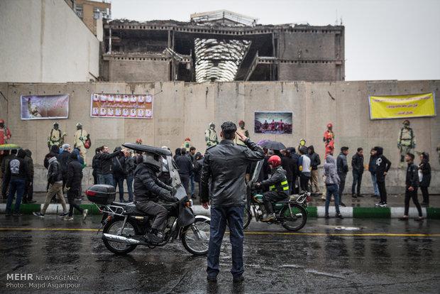 """احياء ذكرى استشهاد رجال الاطفاء بمبنى """"بلاسكو"""