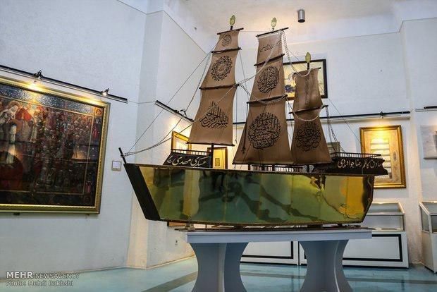 کشتی مطلای قرآن