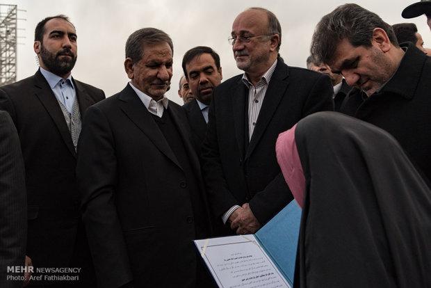 زيارة جهانغيري لمحافظة البرز  الواقعة في شمال طهران
