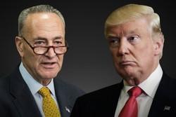 چاک شومر و دونالد ترامپ