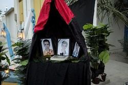 احداث یادمان دانشجویان دانشگاه آزاد جان باخته در نفتکش سانچی