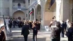 ادای احترام به شهدای نفتکش سانچی در مدرسه عالی شهید مطهری