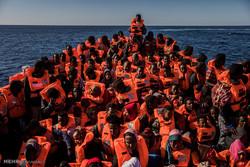 ڕزگارکردنی پهنابهران له ئاوهکانی لیبیا