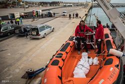 نجات پناهجویان از آبهای لیبی