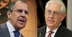 Lavrov, Tillerson discuss political solution of Syrian crisis