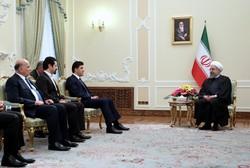 روحاني: إقليم كردستان جزء مهمّ من العراق