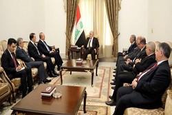 وزیر خارجه ترکیه با نخستوزیر عراق دیدار کرد