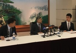 Chinese amb. Calls media to not heed rumors about oil tanker collision