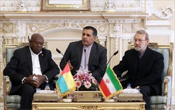 Larijani urges expansion of ties with Guinea-Bissau