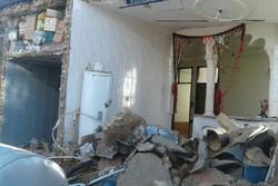 انفجار گاز منزل مسکونی در روستای «گاوکش» شهرستان دلفان