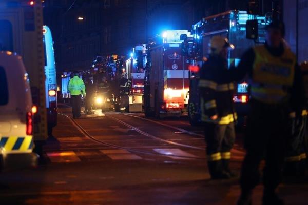 آتش سوزی در پایتخت چک