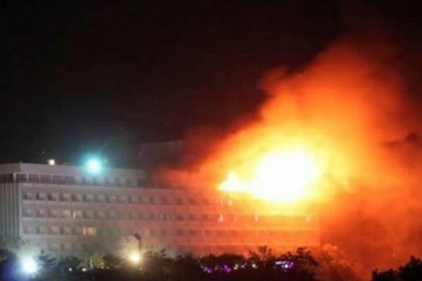 انتهاء الهجوم الإرهابي على فندق بالعاصمة الأفغانية
