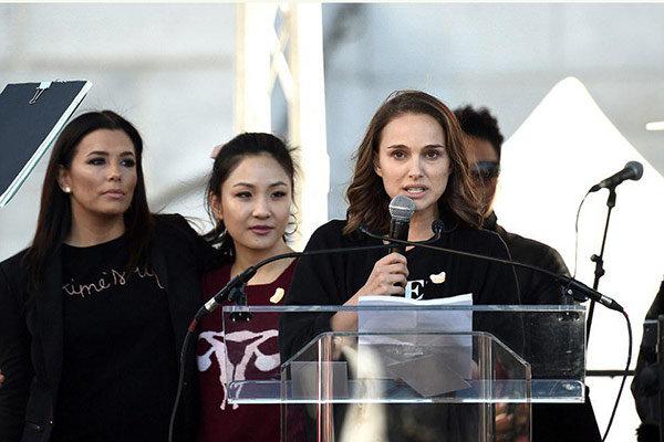 سخنان محکم ناتالی پورتمن و اسکارلت جوهانسون در دفاع از زنان