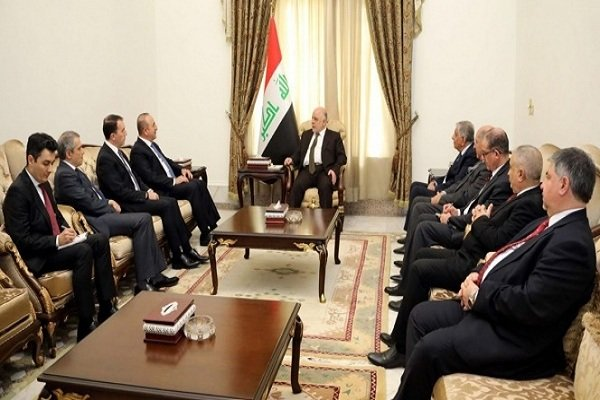 Çavuşoğlu, Irak Başbakanı İbadi ile görüştü