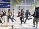 پنجاب یونیورسٹی میں دو طلبہ تنظیموں میں تصادم