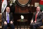 العبادی از شاه اردن برای مشارکت در نشست بازسازی عراق دعوت کرد