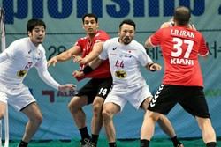 Iran handball team loses to S. Korea
