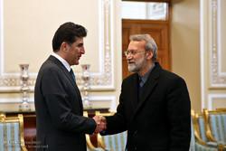 Larijani meets with KRG premier