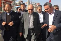 اعضای کمیسیون انرژی مجلس و وزیر نفت از پارس جنوبی بازدید کردند