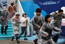 مانور حمله موشکی ژاپن