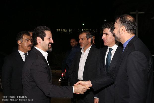 Larijani meetsKRG prime minister in Tehran