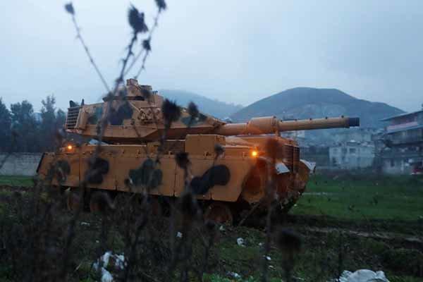Türk Ordusu'nun Afrien'e girme çabaları başarısız oldu